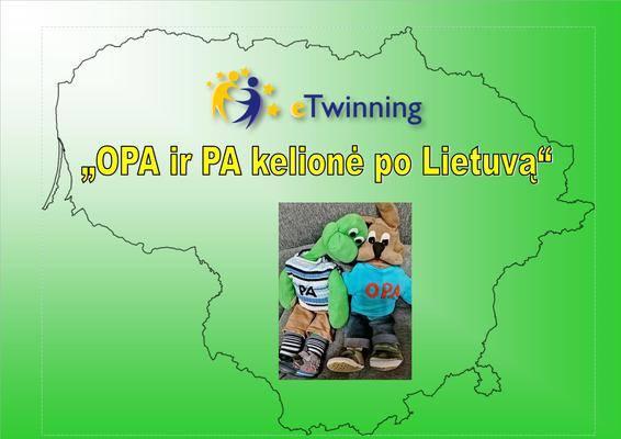 """Projektas ,,OPA ir PA kelionės per Lietuvą"""""""